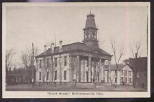 1910s POSTCARD McCONNELSVILLE OH/OHIO COURT HOUSE
