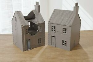 Normandy French Village House DS-T7 (VOLUME 2) - Tabletop Wargaming Terrain