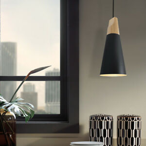 Modern Ceiling Lamp Office Black Chandelier Kitchen Mini LED Pendant Lighting