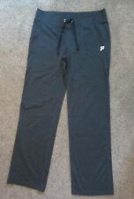 Fila Athletic Pants Sz L Exercise Running Workout Fitness Charcoal Gray