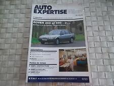 REVUE  AUTO EXPERTISE ROVER 200 ET 400 DEPUIS 91 BERLINES ESSENCE ET DIESEL