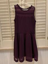 Girls Sally Miller Couture Dress - Plum, Size Medium or 10