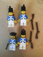 Lego Minifigures: X3 Imperial Soldiers PI060 And 1x Officer PI063 ALL armed  (M)