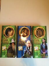 "(3) LORD of the RINGS GANDALF 12""  1/6 DOLL TOY BIZ STATUE Legolas Arwen"