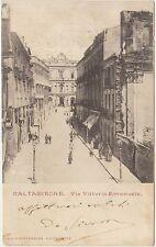 CALTAGIRONE - VIA VITTORIO EMANUELE (CATANIA) 1901