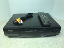 New listing Panasonic Omnivision 4-Head Vcr Video Cassette Recorder Pv-4625S Tested Working