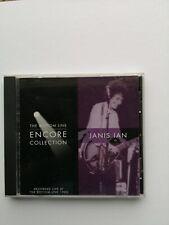 Janis Ian CD , The bottom line / Encore Collection Live , Freepost