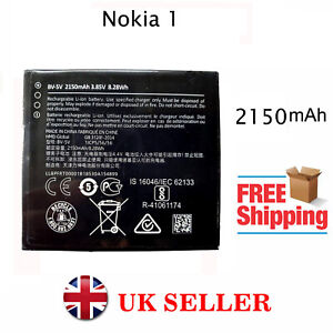 Battery For Nokia 1 BV-5V 2150mAh 3.85v Zero Cycle Internal Battery Replacement