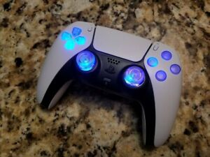 PS5 LED Blue TechFire Controller for Playstation5 gift * Video games * Birthday