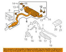 AUDI OEM 09-15 TT Quattro 2.0L-L4-Muffler 8J0253181BA