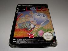 Adventures of LOLO Nintendo NES Boxed PAL *Complete*