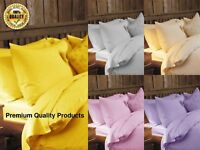 Duvet Cover Set 100% Cotton Brushed Thermal Flannelette Quilt Cosy Warm Bedding