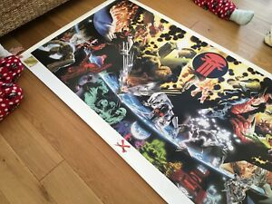 Marvel - Limited Edition - 1999 - Earth Monster X Lithograph - MINT