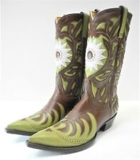OLD GRINGO Women's Handmade Leather Cowboy Boots 9B Made in Mexico