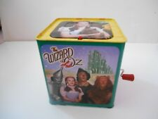 Schylling The Wizard of Oz 75th Anniversary Tin Jack In The Box Dorothy Works