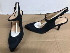 Georgia Rose Amalsa Stiletto High Heels dark Blue uk 4 eur 37 leather