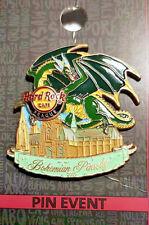 Hard rock cafe Praga Prague HRC fantástico Bohemian pinsody Dragon pin!!!