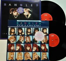 """Bangles - If She Knew What She Wants & Following 2x12"""" Singles 1986/87 UK NM"""