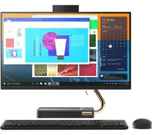 "Lenovo A540 23.8"" FHD Intel i7-9700T 4.3GHz 256GB SSD 2TB HDD 8GB RAM PC - Win10"