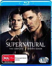 Supernatural : Season 7 (Blu-ray, 2012, 4-Disc Set)