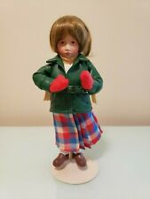 Porcelain Norman Rockwell's Little Girl and Her Doll Danbury Mint