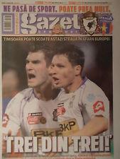 Programm Gazeta 2008/09 FC Timisoara - Steaua Bukarest