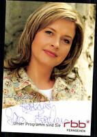 Silke Böschen RBB Autogrammkarte Original Signiert ## BC 23485