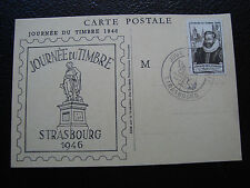 FRANCE - carte 1er jour 29/6/1946 (journee du timbre) (cy83) french (T)