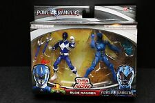 """Blue Ranger Mighty Morphin Power Rangers Then and Now Movie 5""""  Figures 2017"""