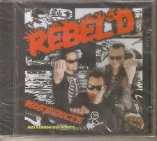 REBEL D PUNK - Redegeneracion ( Punk Rock Mexicano ) CD Mexican Edition