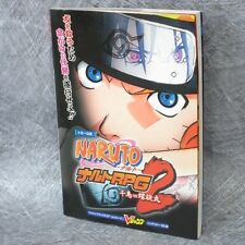 NARUTO RPG 2 Chidori vs Rasengan Game Guide w/Map Japan Book Nintendo DS VJ329x*