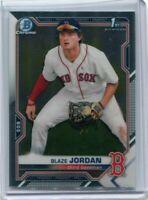 2021 Bowman Chrome BCP-71 Blaze Jordan - Boston Red Sox 1st Bowman 🔥 - A