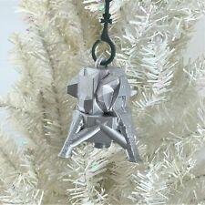 Custom Christmas Bauble - Mars Luna Lander Silver