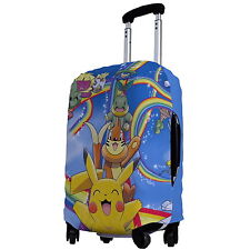 "Pokemon Luggage Protector Elastic Suitcase Cover 18''- 20"" y64 w0042"