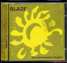 Blaze The Instrumental Project Japan CD w/obi PAPACD0004J