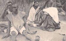 NIGERIA -  LOKOJA, Market, Native Barbers, Northern Nigeria.