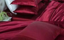 100%SILK Pillow case OneX22m48x74*Premium*WINE*QualityMade*Rejuvenatie*Skin+U*BR