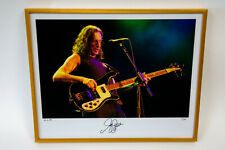 Geddy Lee (Andrew MacNaughtan) Limited Signed Photo. #13 of 50 *Rare*