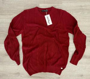 Salvatore Ferragamo New Mens Sweater Size L