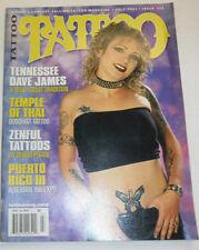 Tattoo Magazine Tennessee Dave James Zenful Tattoos July 2001 100814R