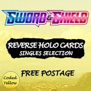 Pokémon Sword & Shield Base Set | REVERSE HOLO |  Choose Your Card - Discounts
