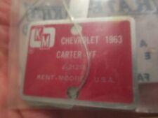 KENT-MOORE  SPECIALTY TOOLS--CARBURETOR TOOLS-1963 CHEVROLET--  CARTER YF----NEW