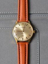 Cortebert Incabloc 17 Jewels vergoldete schweizer Herren Armbanduhr der 70er