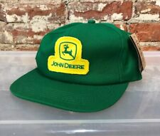 NWT John Deere K-Products Made In USA Green Logo Patch Snapback Hat