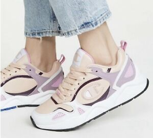 NEW Women Champion NXT Athletic Running Shoes Sneakers Size 7 Blush Pink White
