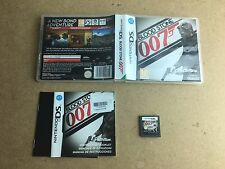 Blood Stone 007 James Bond-Nintendo DS (NDS) Tested/Working UK Pal