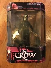 "McFARLANE TOYS MOVIE MANIACS 2 12"" THE CROW ERIC DRAVEN MIP"