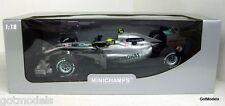 MINICHAMPS 1/18 - 110 100004 MERCEDES GP F1 TEAM MGP W01 - NICO ROSBERG 2010