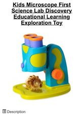 Kids Microscope First Science Lab Discovery Educational Learning Exploration Toy