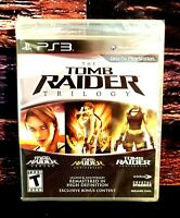 Tomb Raider Trilogy - Sony Playstation 3 - PS3 - Brand NEW - Sealed